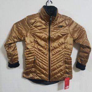 NEW North Face Womens Medium Gold Mossbud Jacket